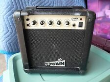 Uptown SK-8 Guitar Amp Amplifier PLAY ANYWHERE!! Works on 110, Batteries, DC12v