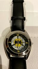 "Warner Bros. Studio Store ""BATMAN"" Logo Watch - RARE"