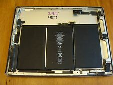 Apple iPad 2 Case Rear Cover Housing Camera Cables Buttons Battery  EMC2415 487