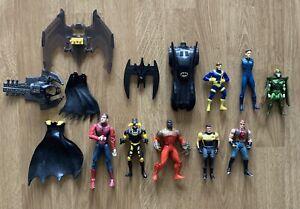 DC Batman X-Men Spiderman Action Figure Bundle Job Lot 1990s Marvel