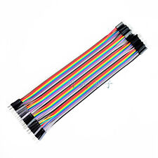 40PCS Dupont wire 20cm Cables Line Jumper 1p-1p pin Connector male to male