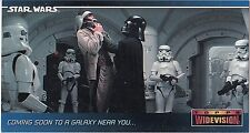 STAR WARS 1994 TOPPS WIDEVISION SWP5 PROMO CARD