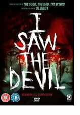 I Saw the Devil (DVD, 2011) Region 2 PAL UK Like New