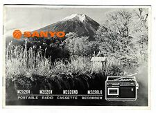 SANYO - M2526H - N - NB - LG  -  OPERATING INSTRUCTIONS   ( ORIGINAL BOOK )