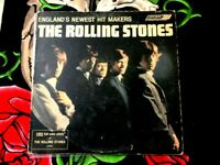 ROLLING STONES ENGLAND'S NEWEST HIT MAKERS 1964  LL 3375 MAROON UNBOXED LABEL