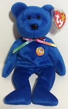 """TY Beanie Babies """"CLUBBY 1"""" BBOC Exclusive Teddy Bear - MWMTs! PERFECT GIFT!"""