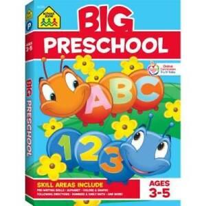 Big Preschool Workbook - Paperback By School Zone Staff - GOOD