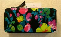 NWT Vera Bradley Large Travel Pill Case 4 x 7 Zip Organizer Box in Hilo Meadow