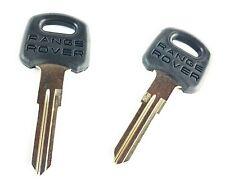 Set of 2 Range Rover Classic Ignition Door Key Blanks Uncut Genuine MUC2153