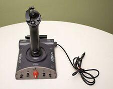 Saitek AV8R-01 USB Joystick For Flight Simulator Dual Throttle