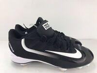 Nike Men's Black Huarache 2kfilth Pro Low Baseball Cleats 807126-010 Size 12