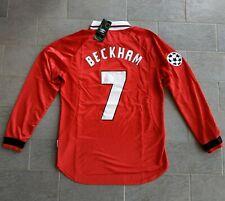 Maglia Da Calcio Beckham Manchester United finale Champions 1999 Barcellona