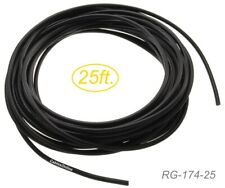 25ft RG174 Bulk 50 Ohm Micro-Coax Cable, RG-174-25