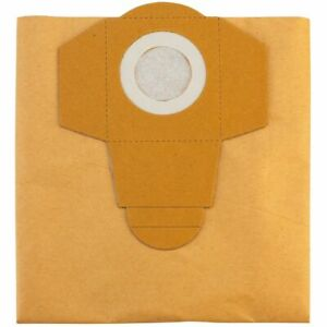 Einhell Sacs d'aspirateur convenable pour aspirateurs de 20 L 5 pièces