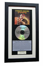 CHRISTY MOORE Live At Point CLASSIC CD Album QUALITY FRAMED+EXPRESS GLOBAL SHIP