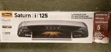 """Fellowes Saturn3i 125 Laminator, 12"""" Wide X 5mil Max Thickness 5736601 NEW"""