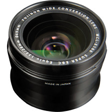 Fujifilm WCL-X100 Black Wide-Angle Conversion Lens for X100 Camera