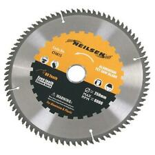 Neilsen TCT Circular Saw Blade for Aluminium: Choice of 184, 215, 250mm Blades
