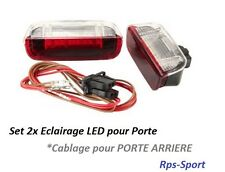 ECLAIRAGE INTERIEUR LED PORTE ARRIERE ROUGE / BLANC VW GOLF 5 V 2.0 TDI
