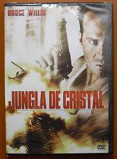 Jungla de Cristal (Die Hard) [DVD] Bruce Willis, Alan Rickman ¡NUEVO A ESTRENAR!