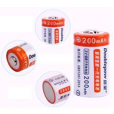 15270 CR2 200mAh 3V Rechargable Battery + Dual 2-Slot Battery Charger