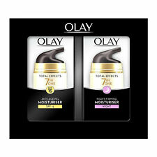 Olay Total Effects 7in1 Moisturiser Gift Set, Anti-aging & Night Firming, 37ml