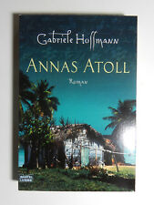 Gabriele Hoffmann Annas Atoll Roman Thriller Bastei Lübbe