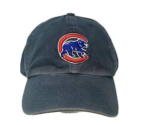 New Twins MLB Chicago Cubs Distressed Navy Adjustable Franchise Cap
