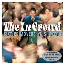 The In Crowd - Sixties Movers 'N' Shakers - 40 Orignal Hits 2CD 2014 NEW/SEALED