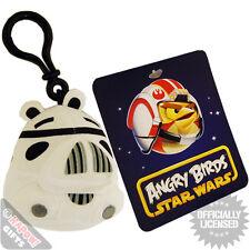 Angry Birds De Stormtrooper Clip Para Bolsos. Retro Sci Fi Rovio Mobile Game Cool Kids Regalo