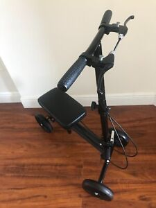 KneeRover Knee Scooter Walker Aid Steerable Medical Leg Scooter-drive crutches
