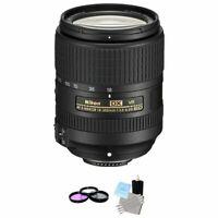 Nikon AF-S DX NIKKOR 18-300mm f/3.5-6.3G ED VR Lens + UV Kit & Cleaning Kit