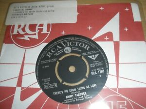 """Jimmy Tarbuck There's No Such Thing As Love b/w Forget Me Not 7"""" 1968 RCA 1760"""
