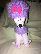 "Kohl's Cares Clifford's Cleo 12"" Plush Dog New Purple Lilac Stuffed Animal Toy"