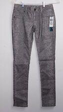 INC Skinny Leg Reg Fit animal print gray/tan NEW NWT Jeans Size 0