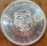 1964 Canada Dollar BU ***Check It Out!! KM# 58 #AA479-10