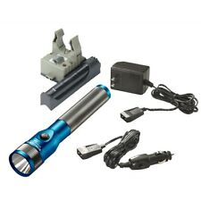 Streamlight 75613 Stinger LED Rechargeable Flashlight w/ PiggyBack - Blue
