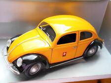 VOLKSWAGEN VW MAGGIOLINO BISCOTTO Split Window Beetle Bug Swiss Post PTT, solido 1:18!