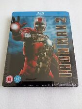Iron Man 2 PLAY UK Exclusive Steelbook SUPER RARE *Brand New Sealed*