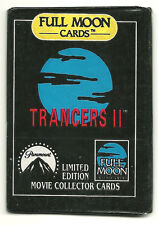 Trancers 2 Movie Trading Cards (Full Moon Ent, 1991) Wax Pack **VERY RARE**