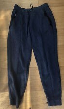 Nike Navy Tracksuit Bottoms Small 8