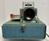 Vintage ARGUS 500 Model 539 Slide Changer Projector With Working Bulb