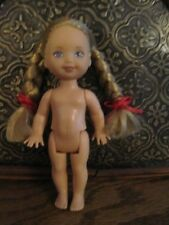Rare Nude New Kelly doll with Braids