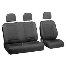 intensiv schwarze Sitzbezüge für NISSAN Nv300 Autositzbezug komplett