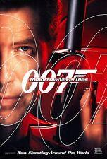 JAMES BOND Tomorrow Never Dies Pierce Brosnan D/S Original 27x40 Movie Poster