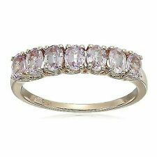 10k Pink Gold Pink Sapphire Ring Size 7