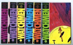 Watchmen #1-12 (1986) Complete Set Avg VF/NM to NM- DC Comics