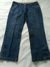 GAP Womens Low Rise Capri Blue Jeans Size 10
