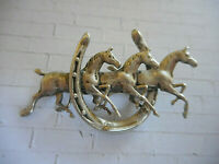 Vintage Beach Sea Vacation Beauty BEAU Repousse SEAHORSE Brooch Pin Sterling Silver 925 2.45 Long x 1.04 Wide