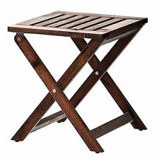 Outdoor Wooden Timber Bar stool Kitchen Chair Dining 38cm x 40cm x 42cm height